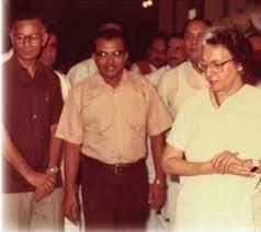 Dr. Nair and Mrs. Gandhi at NMNH